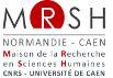 Page d'accueil de la MRSH