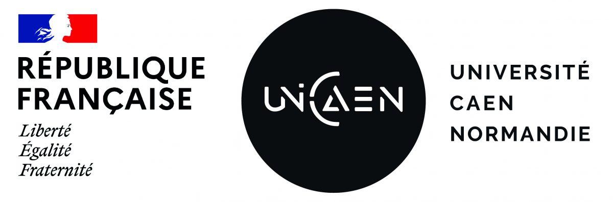 Logos Marianne & UNICAEN couleur