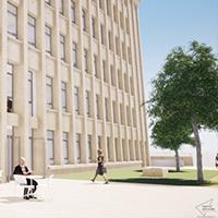 En savoir plus sur le bâtiment B : visite virtuelle