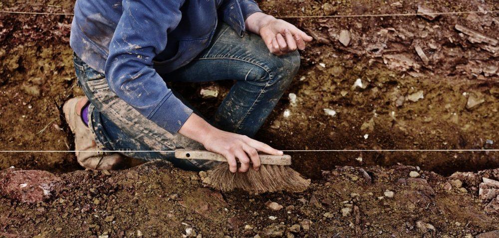 Chantier de fouilles archéologiques de Barbery