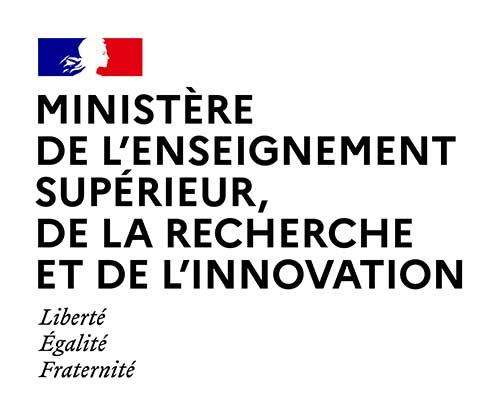 Logo du ministère de l'enseignement supérieur, de la recherche et de l'innovation