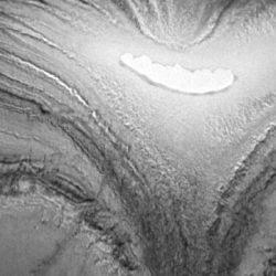 Les réactions du GaN irradié suivies à la trace