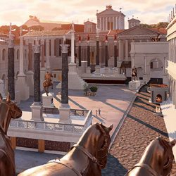 Balade virtuelle au cœur de la Rome antique