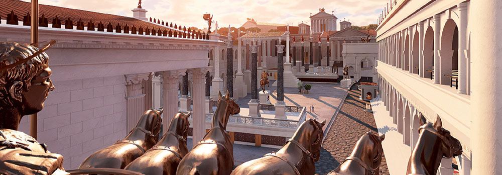 You are currently viewing Balade virtuelle au cœur de la Rome antique
