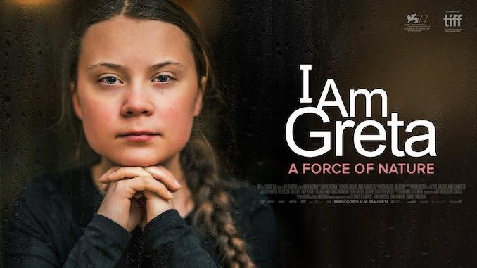Projection I am Greta