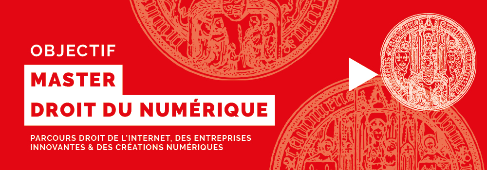 You are currently viewing Objectif Master · Master Droit du numérique