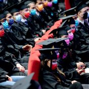 Cérémonie de remise de diplômes de doctorat